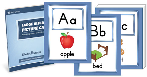 Large Alphabet Picture Cards | MyTeachingStation.com