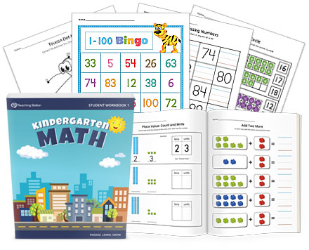 Printable Kindergarten Math Student Workbook Part 1 ...