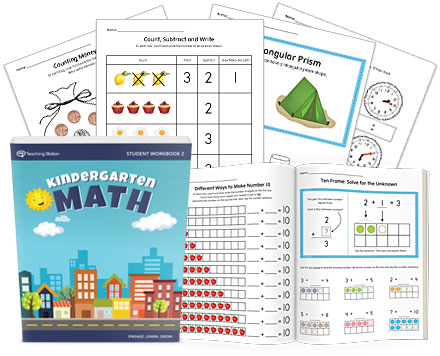 Printable Kindergarten Math Student Workbook Part 2 ...