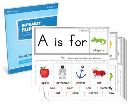 Alphabet Flipbook Activity Set