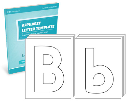 Alphabet Letter Template Set