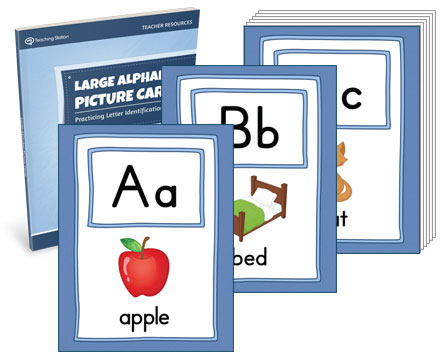 Large Alphabet Picture Cards