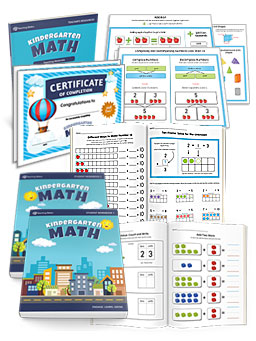 Complete Kindergarten Math Curriculum Student Workbooks Plus Teacher Resources