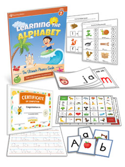 Learning the Alphabet Workbook for Kindergarten Level 2