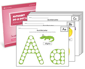 Alphabet Do-A-Dot Letter Activity Set