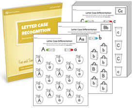 Letter Case Recognition Activity Set