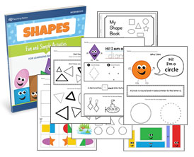Learning Basic Shapes Workbook