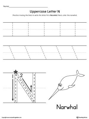 Alphabet Pre-Writing Practice Worksheet Pack | MyTeachingStation.com