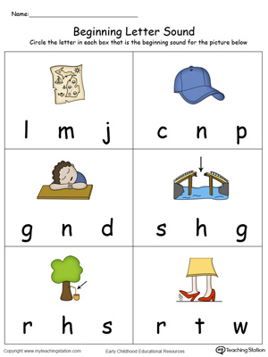 Beginning Letter Sound: AP Words in Color