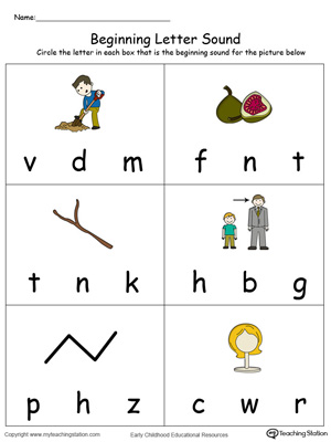 Beginning Letter Sound: IG Words in Color