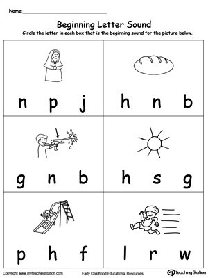 Beginning Letter Sound: UN Words