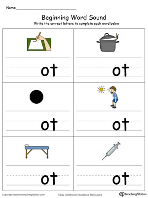 math worksheet : kindergarten reading printable worksheets  myteachingstation  : Color Word Worksheets For Kindergarten