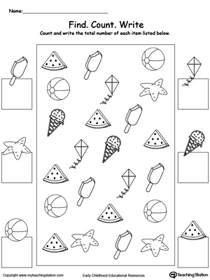 math worksheet : kindergarten numbers printable worksheets  myteachingstation  : Kindergarten Numbers Worksheets