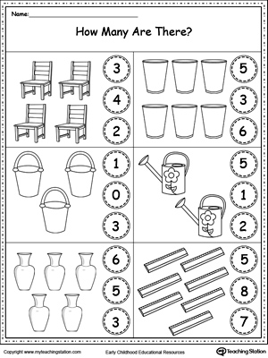 preschool numbers printable worksheets. Black Bedroom Furniture Sets. Home Design Ideas
