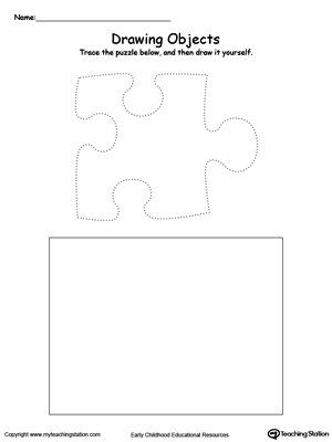 Draw a Puzzle Piece