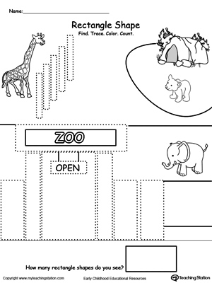 Kindergarten Drawing Printable Worksheets | MyTeachingStation.com