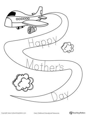 Trace the Sign: Happy Mother's Day