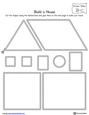 math worksheet : kindergarten scissor skills printable worksheets  : Kindergarten Skills Worksheets