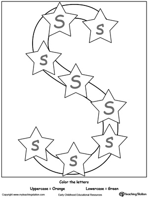 Writing Lowercase Letter S | MyTeachingStation.com
