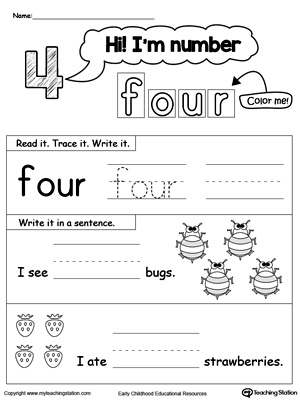 Sight up word Word FOUR,sight FOUR,sight  worksheet word Words,Sight FOUR,sight words sight