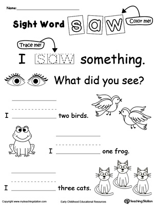 math worksheet : learning sight word do  myteachingstation  : Sight Words Tracing Worksheets For Kindergarten