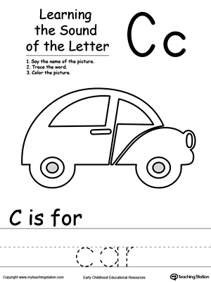 Learning Beginning Letter Sound: C