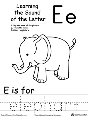 math worksheet : learning beginning letter sound e  myteachingstation  : Kindergarten Letter Sound Worksheets
