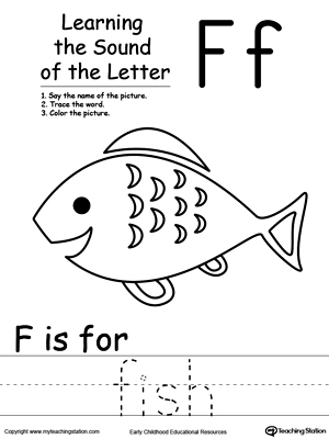 Learning Beginning Letter Sound: F