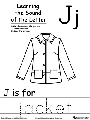 Learning Beginning Letter Sound: J