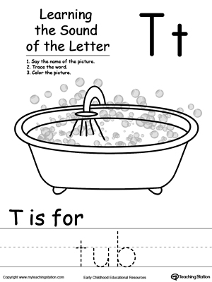Learning Beginning Letter Sound: T