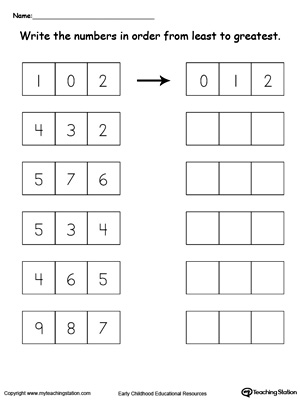 math worksheet : kindergarten numbers printable worksheets  myteachingstation  : Numbers Worksheets For Kindergarten