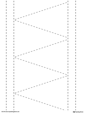 Line Tracing: Diagonal and Straight Lines