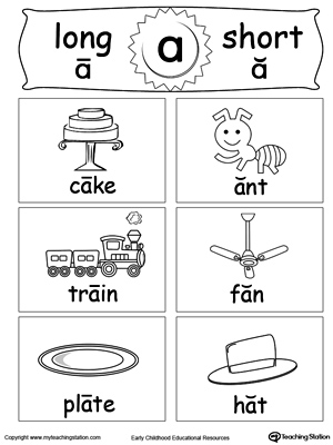 math worksheet : phonics worksheets long and short vowel sounds  : Long Vowel Worksheets Kindergarten