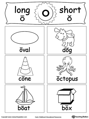 Long O Vowel Sound | Worksheet | Education.com
