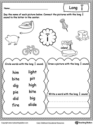 Long O Sound Worksheet | MyTeachingStation.com