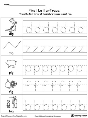 Number Names Worksheets lowercase letter worksheets : Lowercase Letter Tracing: UB Words | MyTeachingStation.com