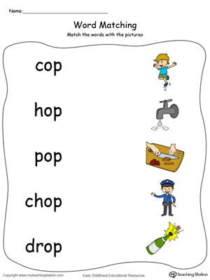 Ig Word Family Worksheets | Worksheet & Workbook Site