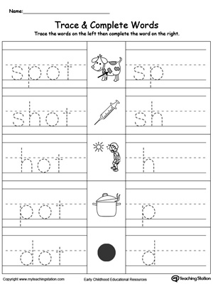OT Word Family Workbook for Kindergarten | MyTeachingStation.com