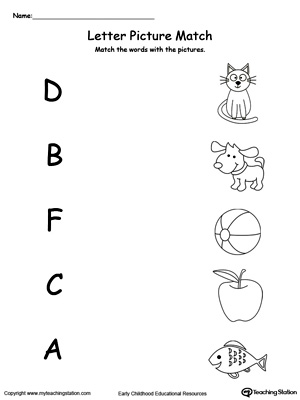 Beginning Sound of the Letter D | MyTeachingStation.com