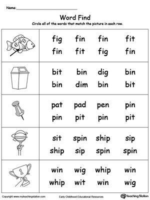 Picture word find in words myteachingstation picture word find in words ibookread Read Online