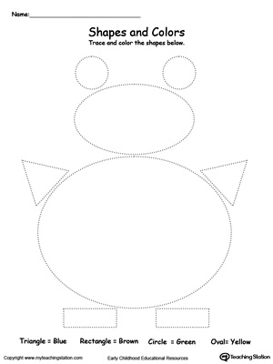 math worksheet : trace shapes to make a snowman  myteachingstation  : Snowman Worksheets Kindergarten