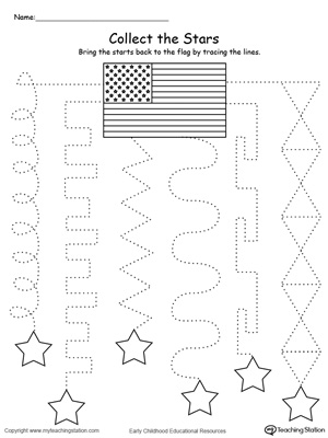 Trace the Pattern to Collect the Stars