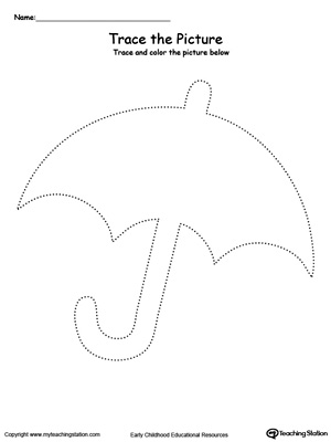 Umbrella Picture Tracing