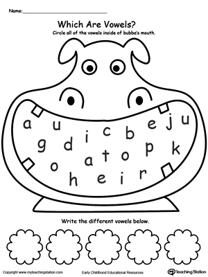 Printables Vowel Worksheets long u sound worksheet myteachingstation com practice recognizing vowels