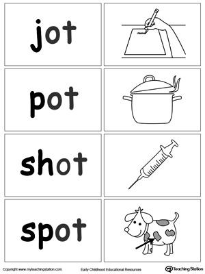 Ot Word Family Workbook For Preschool Myteachingstation Com