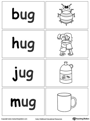 Word Sort Game: UG Words