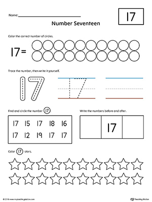Number Names Worksheets tracing numbers 1-100 worksheets : Early Childhood Writing Numbers Worksheets | MyTeachingStation.com