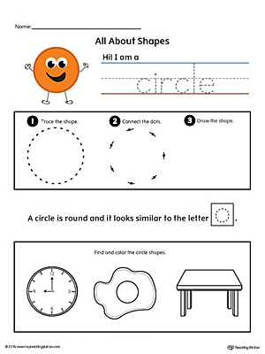 All About Circle Shapes in Color
