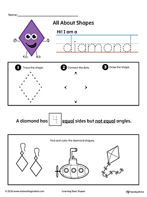 All About Diamond Shapes in Color