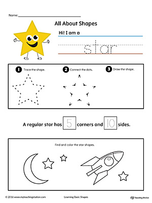 All About Star Shapes in Color
